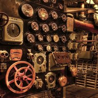 Battleship engine room